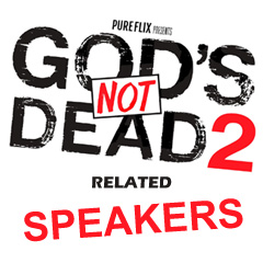 Gods Not Dead, Christian Speaker