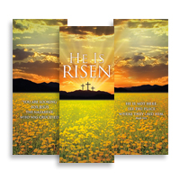 """He is Risen Suite"" Banner Triptych"