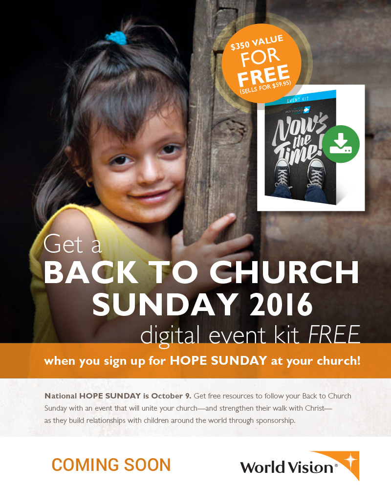 Back To Church Sunday 2016