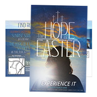 """The Hope Of Easter"" postcards"