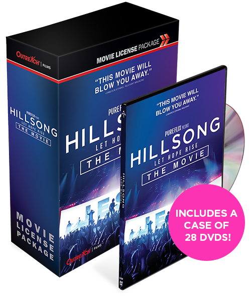Hillsong: Let Hope Rise MOVIE LICENSE + DVD BUNDLE