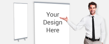 customer supplied artwork rollup banners