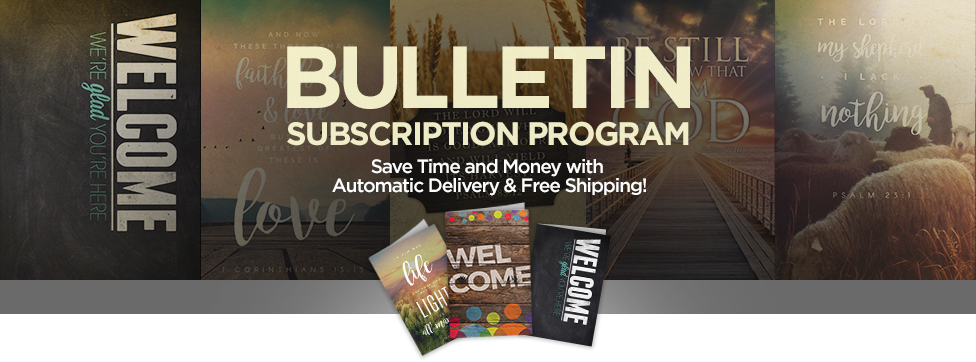easy bulletin subscription program easy church bulletin