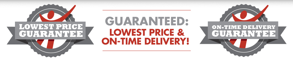 Low Price and Delivery Guarantee