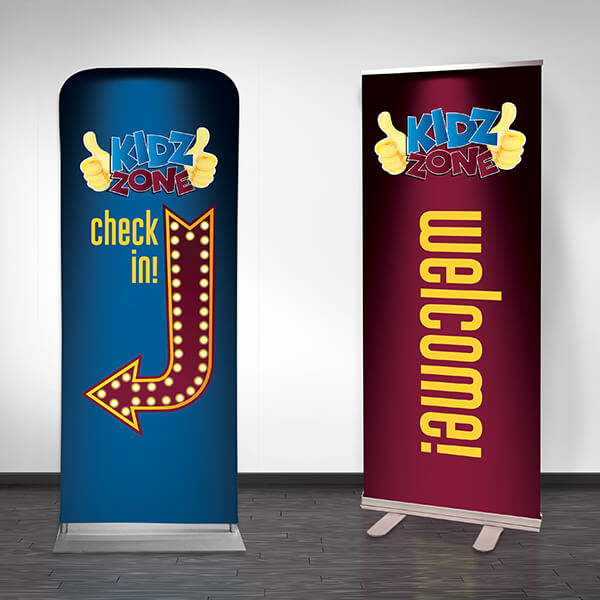 Kidz Zone Marquee: Wall Graphics and Banners for any Church Ministry