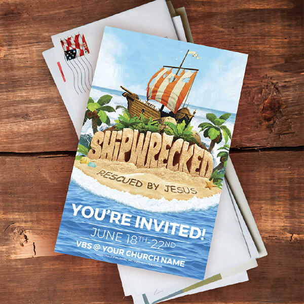Shipwrecked Vbs Wall Graphics And Banners For Any Church