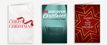 Christmas church bulletin covers