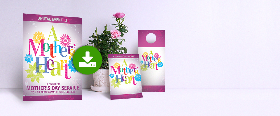 A Mother's Heart one-day digital event kit