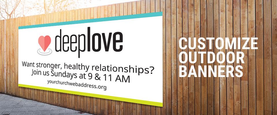 Outdoor Church Banners Custom Outdoor Vinyl Banners