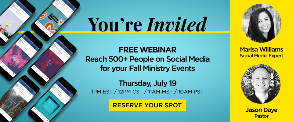 Webinar: Reach People On Social Media This Fall