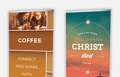 Church Banners - Outreach: Church communication and marketing tools