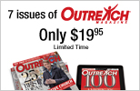 1 Year of Outreach - Only $19.95