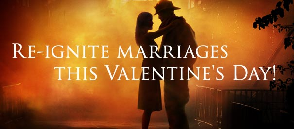 Re-ignite marriages this Valentine's Day