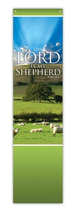 Lord is my Shepherd Image Banner