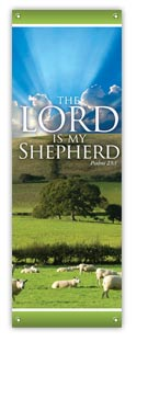 Lord Is My Shepherd XBanner