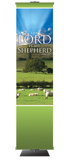 Lord My Shepherd 2X8 Banner