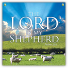 Lord My Shepherd 3X3 Banner