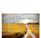 Find Your Way Postcard