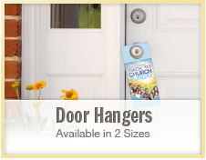 Custom ChurchDoor Hangers