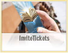 Custom Church Invite Tickets