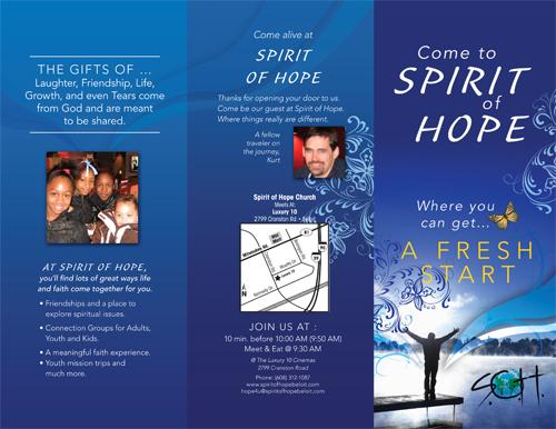 custom church brochures