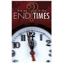 End Times Clock Postcard