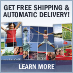 Get Free Shipping and Automatic Delivery!