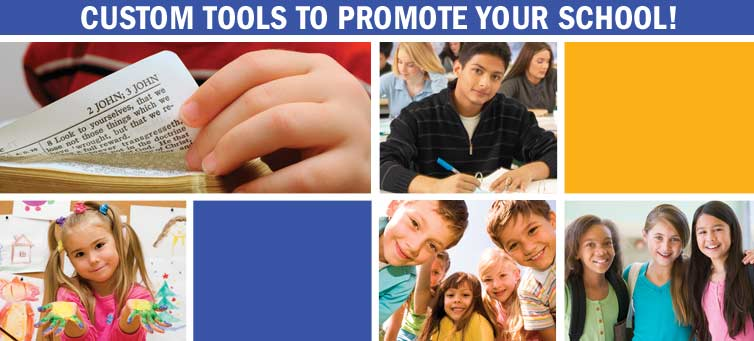 Custom Tools to Promote Your School!