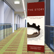 The Story Indoor Banners
