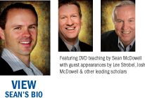 Featuring DVD teaching by Sean McDowell with guest appearances by Lee Strobel, Josh McDowell & other leading scholars