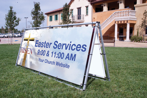 Church Banner Material Outreachcom - Vinyl banners and signs