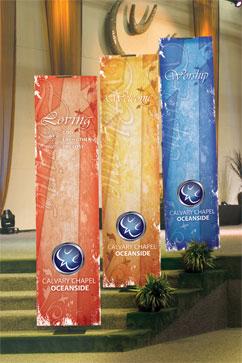 Church Banner Material Outreachcom - Vertical vinyl banners