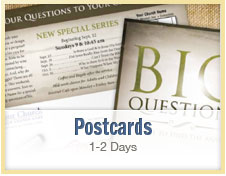 Custom Church Postcards