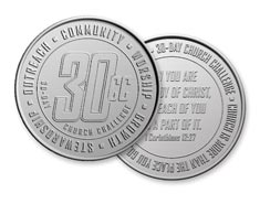 30-Day Church Challenge Coin