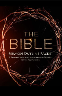 The Bible Sermon Outline Packet
