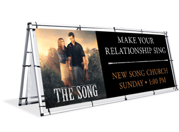 The Song Outdoor Banners