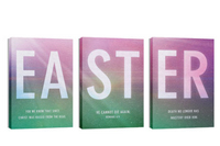 """Easter Color"" Canvas Triptych"