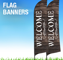Rustic Charm Flag Banners