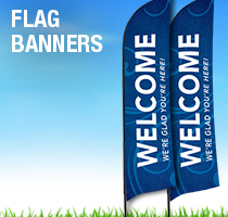 Flourish Flag Banners