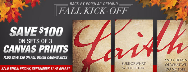 Fall Kickoff Sales