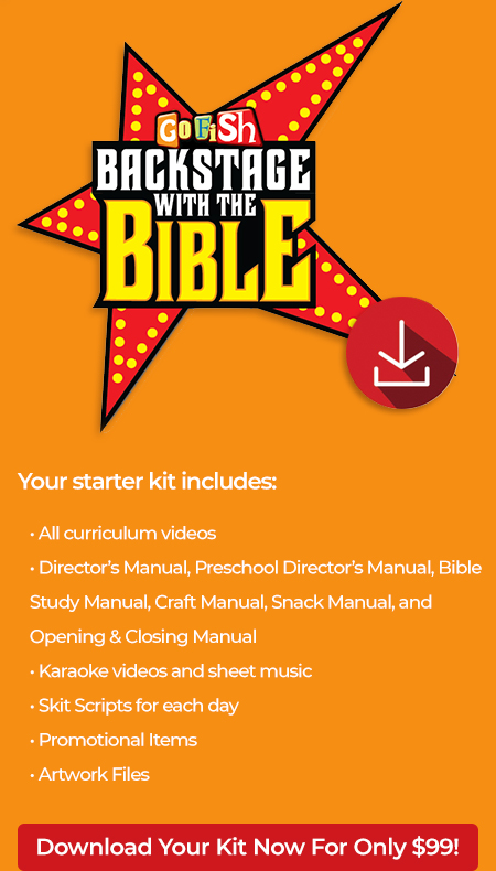 Backstage Bible Kit