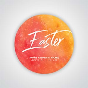 Easter suites to provide your church with festive tools to attract visitors and welcome and inspire everyone who enters!