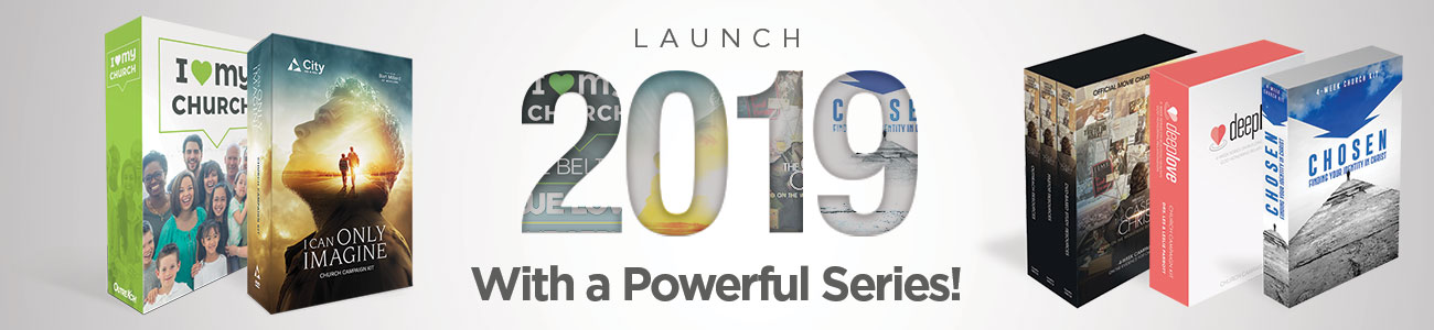 Begin 2019 with a church sermon series, choose from these!