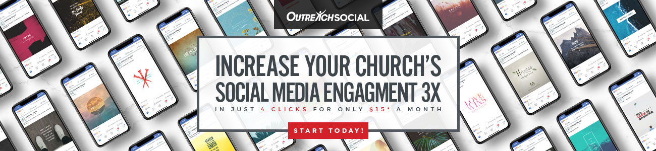 Increase your church's social media engagement by three times!