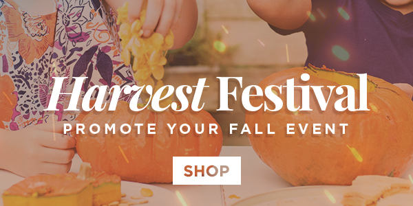 Designs to Promter Your Fall Church Events