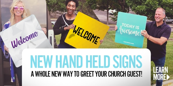 A new tool to make church visitors feel special