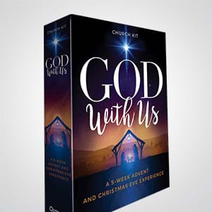 God With Us: A Complete 5-Week Advent Sermon Series and Christmas Eve Service