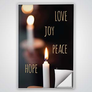 Church Wall Art and Décor: A simple way to update church walls for any season or event