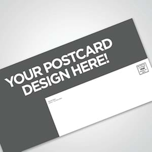 Church Postcards: Create your own postcard design or let us create a custom postcard design