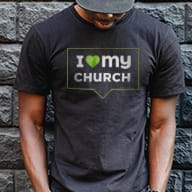 I Love My Church t-shirts just $6.99